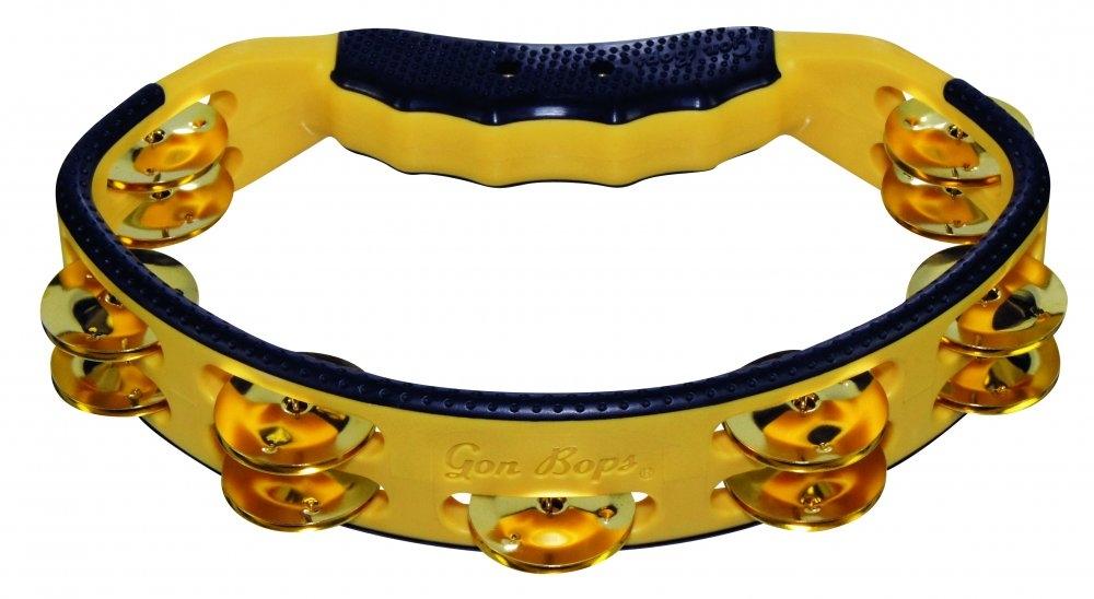 Gon Bops Yellow Tambourine PTAMBR
