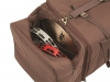 GB Brown Cajon Bag-OpenSidePocket